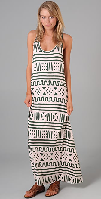 Rachel Pally Racer Tank Maxi Dress