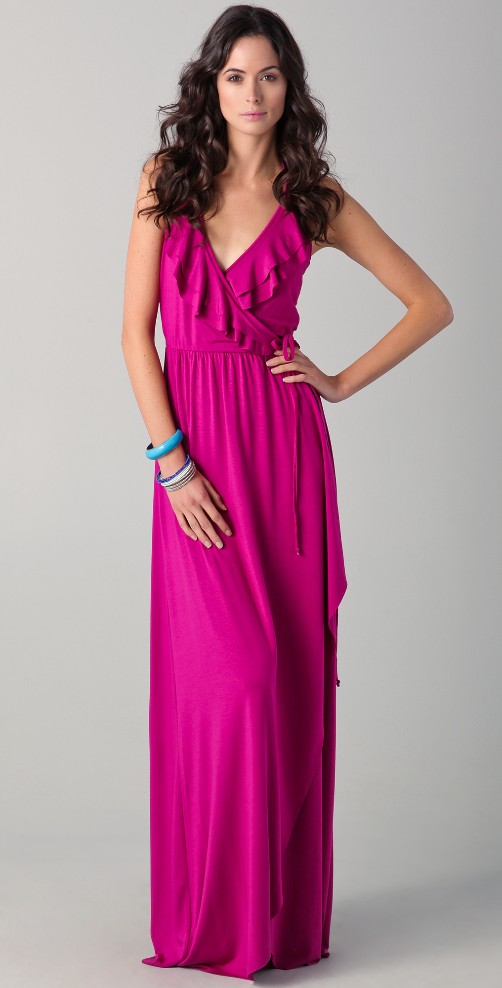 Shop All the Wrap Dresses on sale in your size today from hundreds of stores -- all in one place.