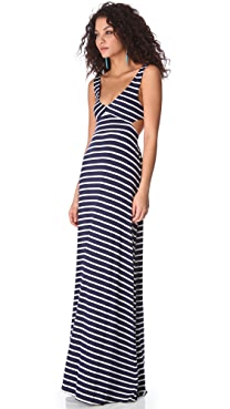 Rachel Pally Stripe Cutout Dress