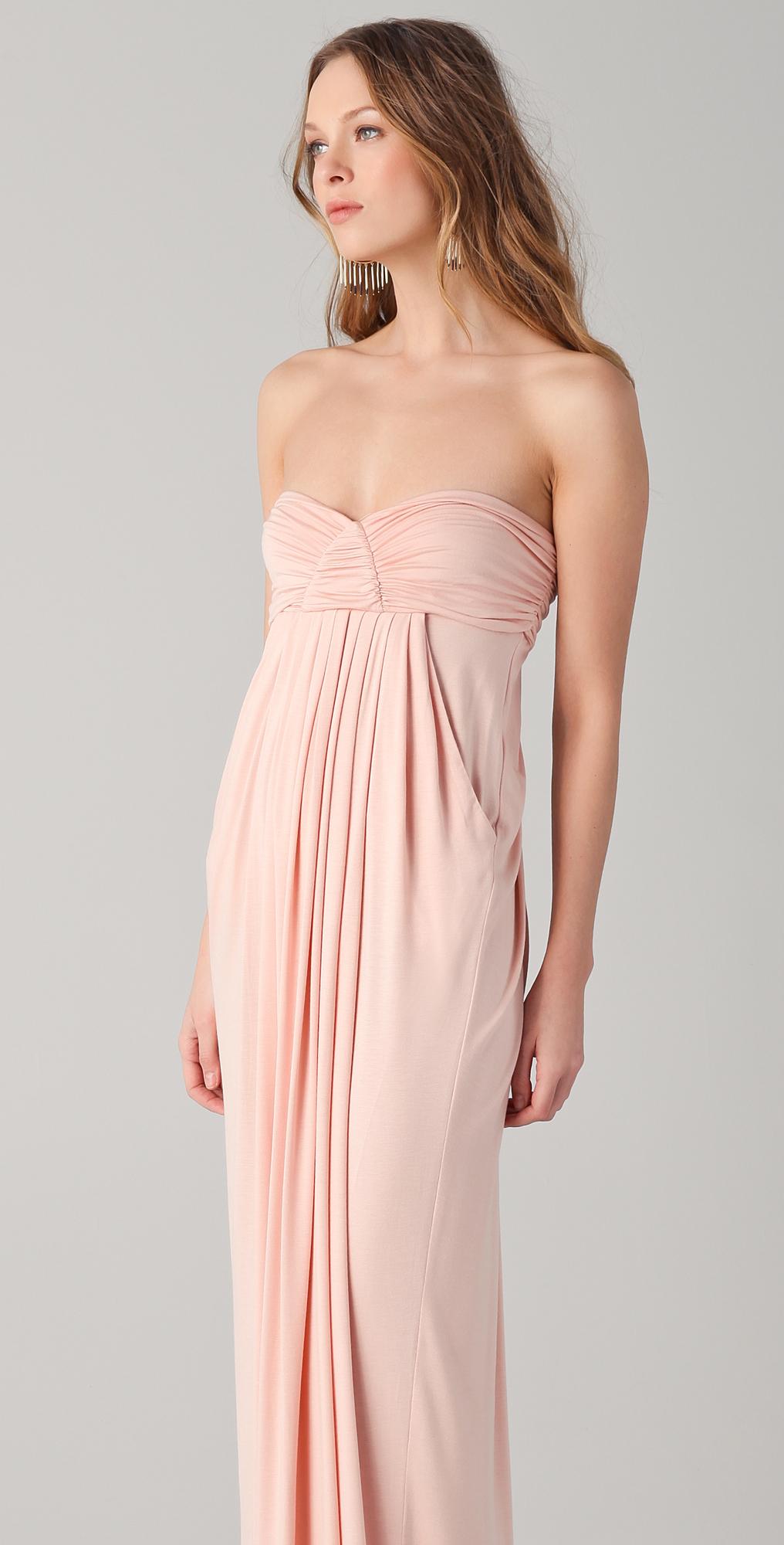 Rachel Pally Long Fortuna Strapless Dress  SHOPBOP