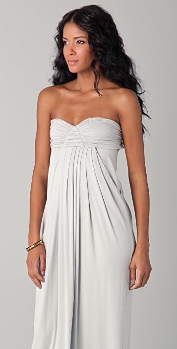 Rachel Pally Long Fortuna Strapless Dress