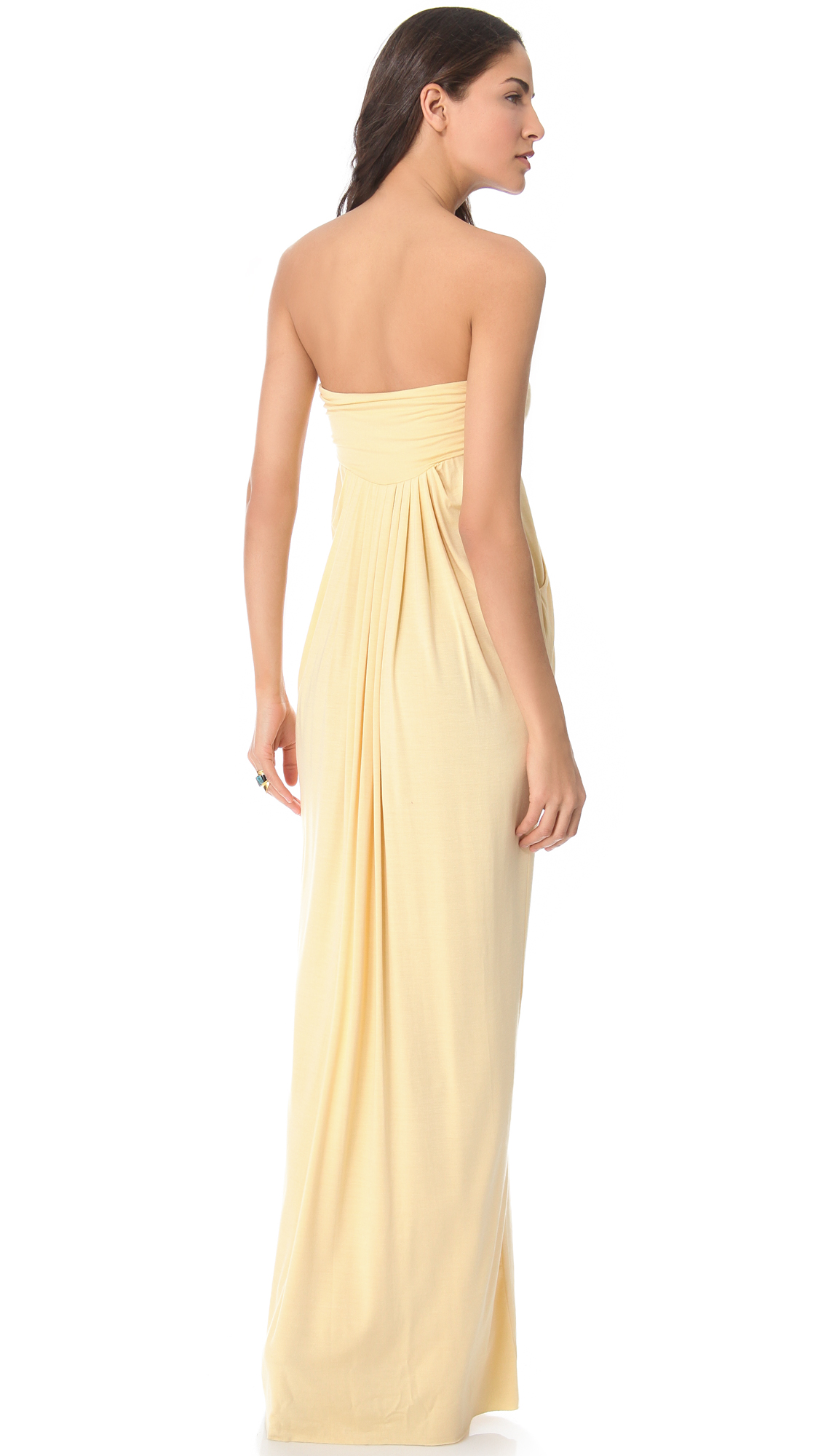 Rachel pally long fortuna strapless dress shopbop ombrellifo Image collections
