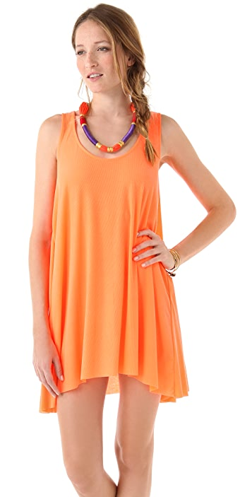 Rachel Pally Ribbed Echo Dress