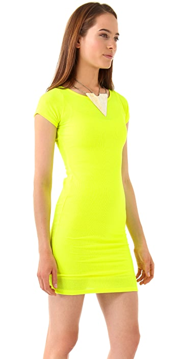 Rachel Pally Ribbed Bianca Dress