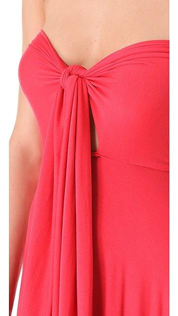 Rachel Pally Long Full Tie Tube Dress