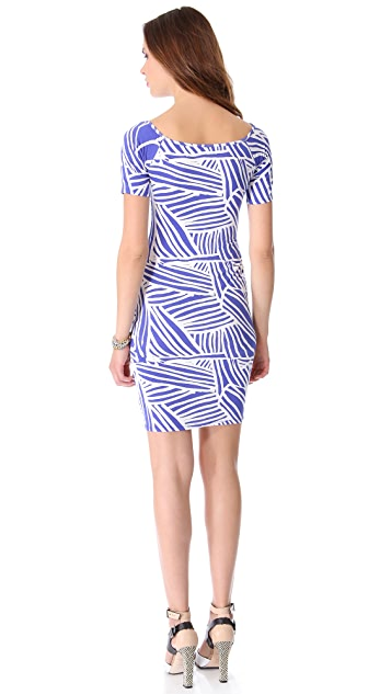 Rachel Pally Short Sleeve Jagger Dress