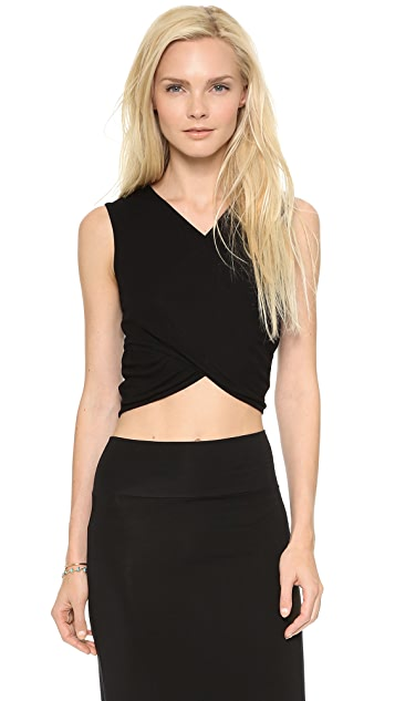Rachel Pally Rib Clarke Crop Top