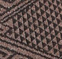 Brown Intarsia