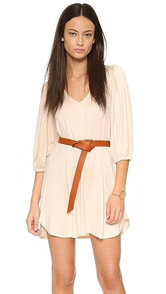 Shop Rachel Pally online and buy Rachel Pally Ezra Dress Cream dresses online