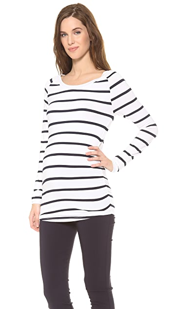 Rosie Pope Long Sleeve Sylvie Maternity Top