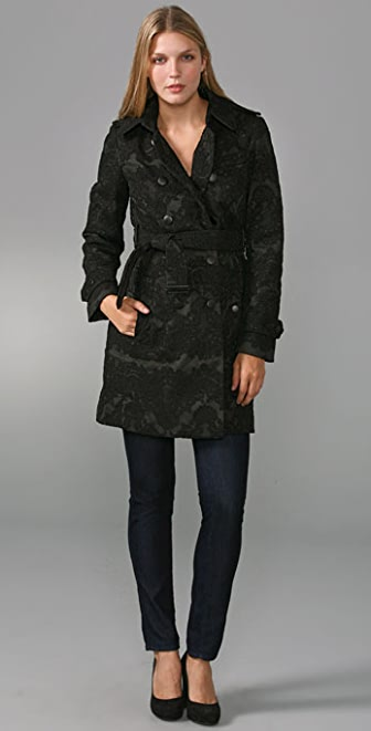 Robert Rodriguez Lace Coat