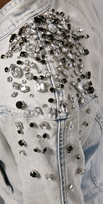Robert Rodriguez Beaded Denim Jacket