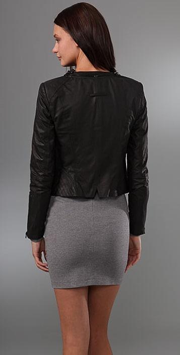 Robert Rodriguez Leather Biker Jacket
