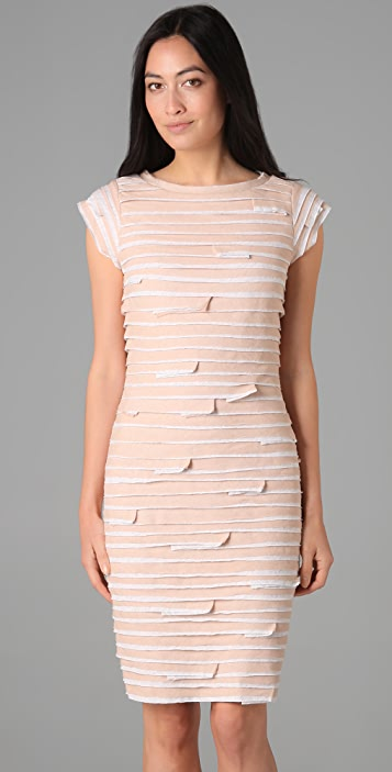 Robert Rodriguez Layered Jersey Dress