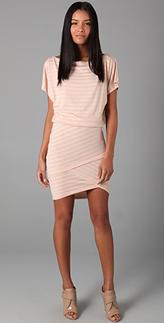 Robert Rodriguez Slouch Mini Stripe Dress