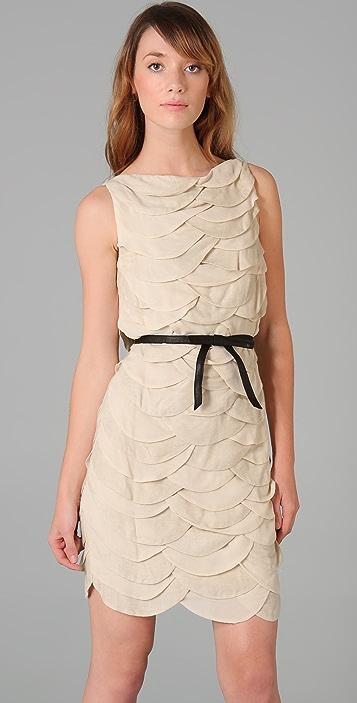 Robert Rodriguez Scallop Dress