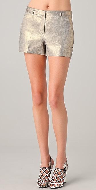 Robert Rodriguez Gold Shorts