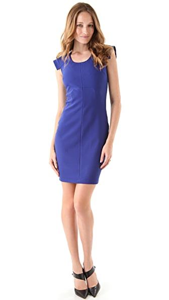 Robert Rodriguez Seamed Bodycon Dress