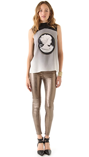 Robert Rodriguez High Waisted Legging