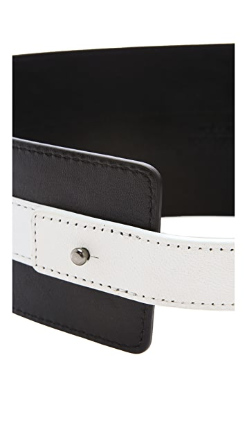 Robert Rodriguez Colorblock Belt