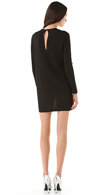 Robert Rodriguez Cascade Silk Dress