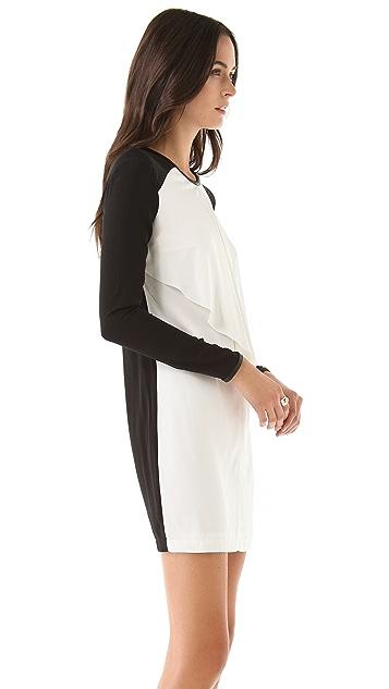 Robert Rodriguez Cascade Silk Dress
