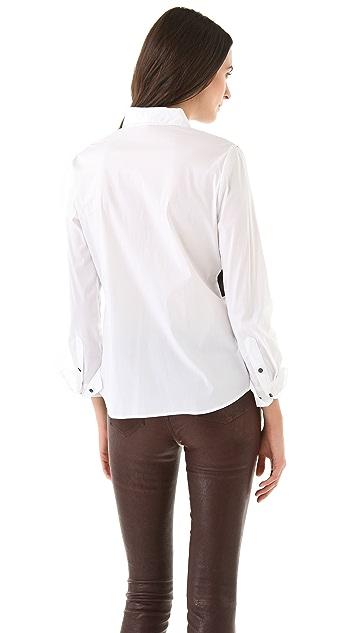 Robert Rodriguez Colorblock Shirt