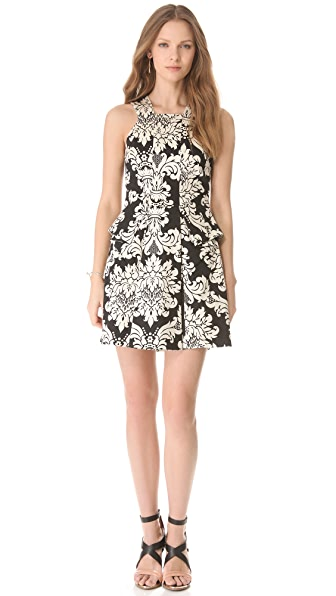 Robert Rodriguez Baroque Print Dress