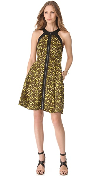 Robert Rodriguez Filigree Print Dress