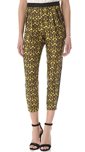 Robert Rodriguez Filigree Print Trousers