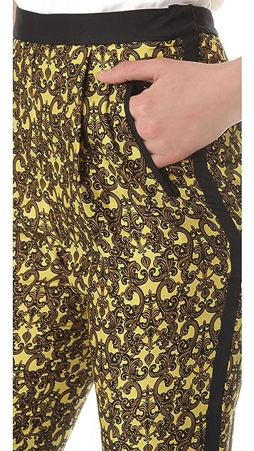 Robert Rodriguez Filigree Print Trousers