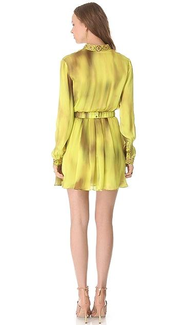 Robert Rodriguez Watermark Print Dress