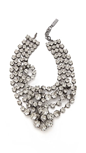 Robert Rodriguez Looped Crystal Collar