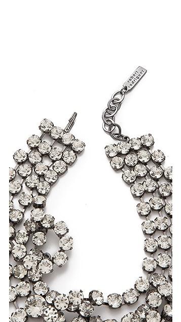 Robert Rodriguez Looped Crystal Collar