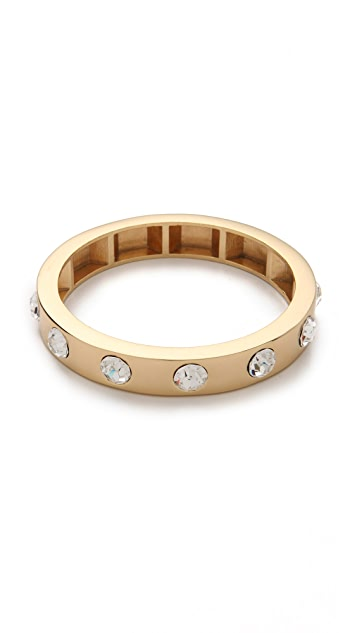 Robert Rodriguez Crystal Studded Bangle