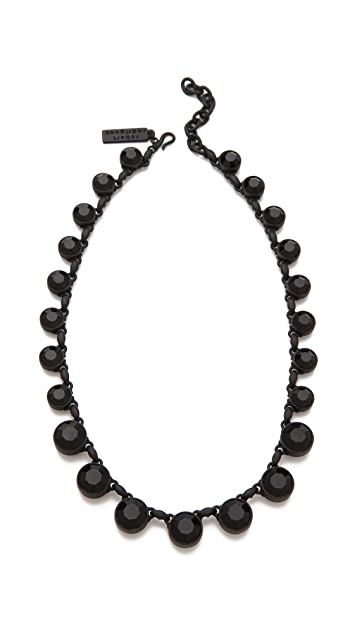 Robert Rodriguez Graduated Crystal Necklace