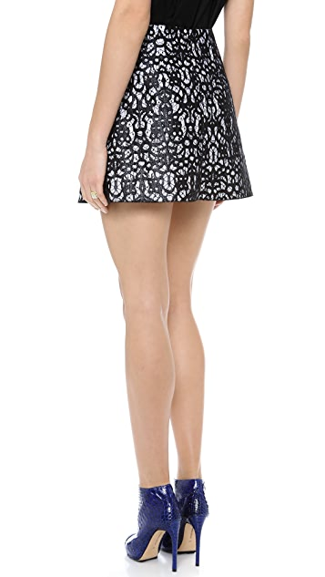 Robert Rodriguez Lace Skirt