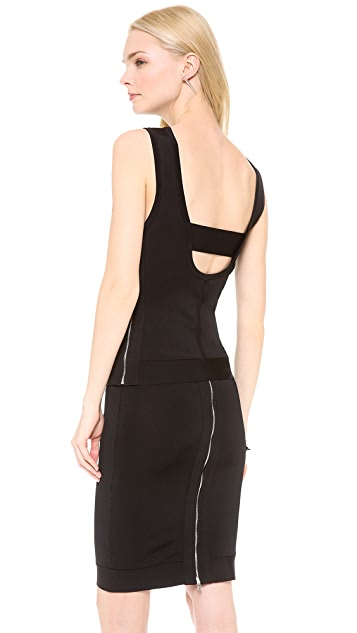 Robert Rodriguez Techno Knit Scoop Back Tank