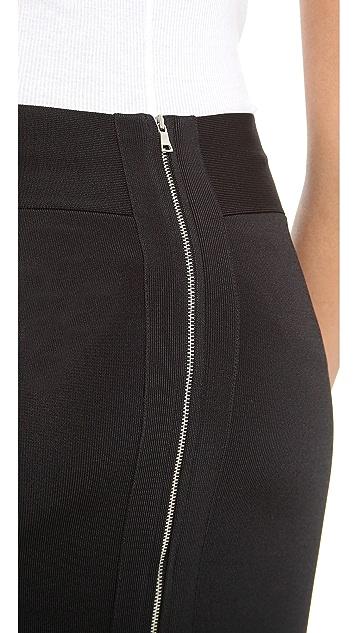 Robert Rodriguez Techno Knit Skirt