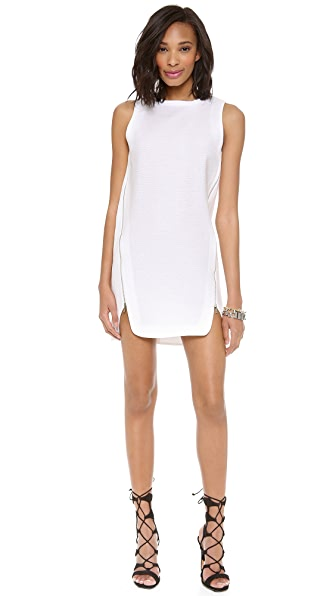 Robert Rodriguez Animal Jacquard Slip Dress