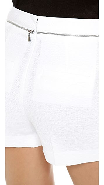 Robert Rodriguez Animal Jacquard Wrap Shorts