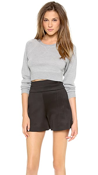 Robert Rodriguez Cropped Sweatshirt