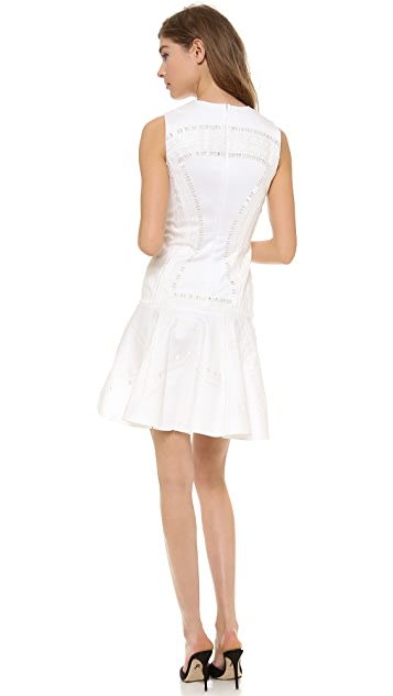 Robert Rodriguez Kuba Embroidered Dress