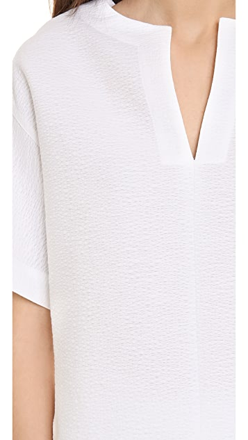 Robert Rodriguez Animal Jacquard Zip Top