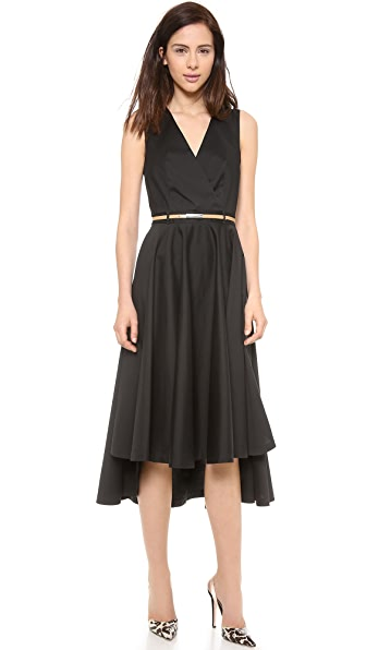 Robert Rodriguez Belted Shirt Dress