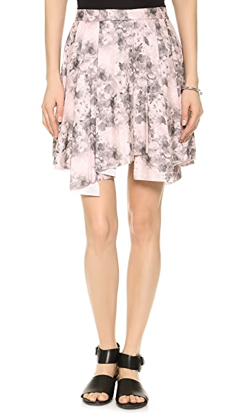 Robert Rodriguez Floral Flare Skirt