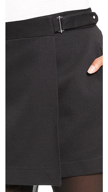 Robert Rodriguez Illusion Skirted Pants