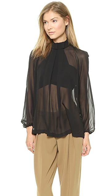 Robert Rodriguez Illusion Mirror Blouse
