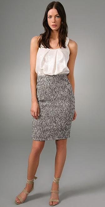 Rachel Roy Mixed Media Dress