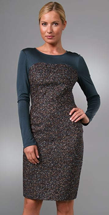 Rachel Roy Mix Media Dress